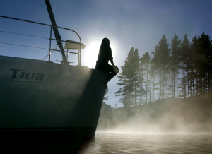 New Zealand Traveller - Smoke on the Water!